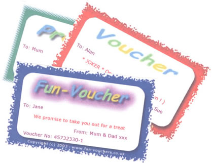Sample Fun-Vouchers